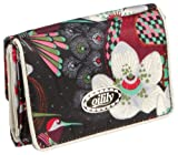 Oilily Tropical Birds Flap Wallet Off White Portemonnaie, 12.5x2.5x9