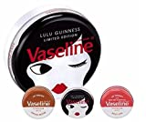 Vaseline Lulu Guinness Auswahl Lippe Geschenk Tin *** LIMITED EDITION *** / Vaseline Lulu Guinness Selection Lip gift Tin ***LIMITED EDITION