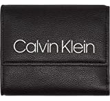 Calvin Klein K60K604506 COLLEGIC MEDIUM GELDBÖRSEN Damen BLACK UNI