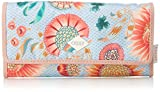Oilily Damen Groovy Sunflower Purse Lh12f Geldbörse, Blau (Light Blue), 1x10x18 cm