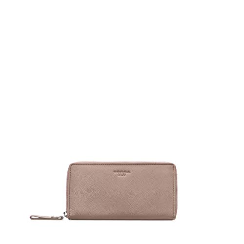 Bruxelles Big Wallet, One Size, Mud-Colored
