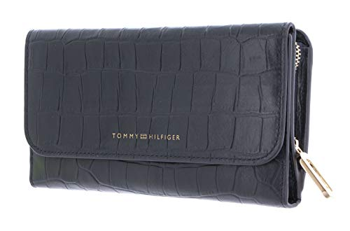 Tommy Hilfiger Turnlock Wallet with Flap Sky Captain