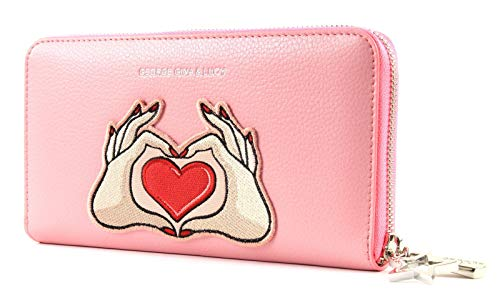 George Gina & Lucy Let Her Wallet Viltvolt Pink Patch