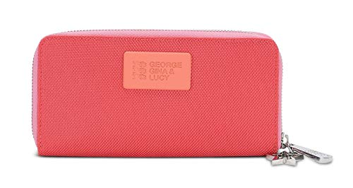 George Gina & Lucy Ball Istic Wallet Girlsroule Coral Red