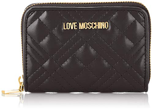 Love Moschino Damen Jc5622pp0a Geldbeutel, Schwarz (Black), 2.5x10x13 Centimeters