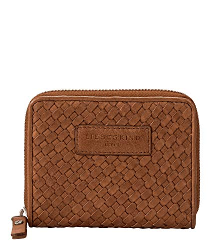 Liebeskind Berlin Damen Santa Fe Conny Geldbörse, medium brown, 12.5x10x2 cm