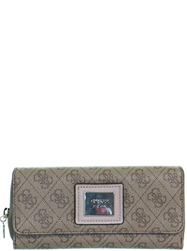 Guess Candace SLG Large Clutch Organizer Brown/Multi