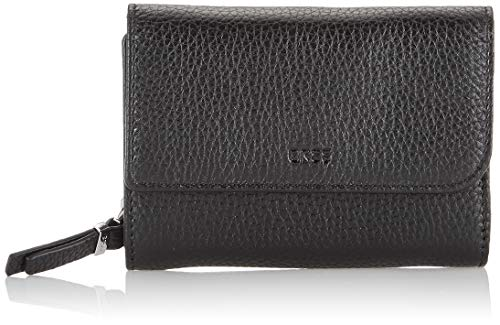 BREE Collection Damen NEA 160, Grain, Combin. Purse S20 Geldbörse, Schwarz (Black), 3x9.5x13 cm