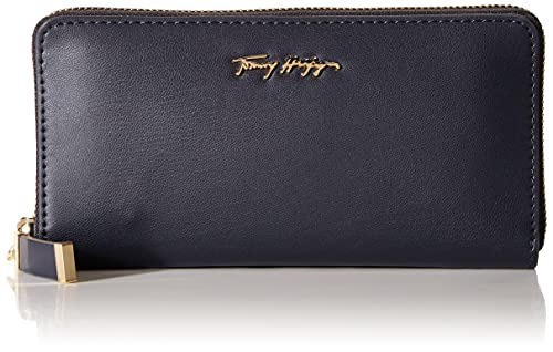 Tommy Hilfiger Iconic Tommy Large Zip Around Wallet Desert Sky