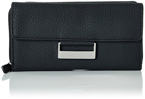 Gerry Weber Damen Geldbeutel Talk Different II Brieftasche aus Polyurethan, Schwarz Black 900, 19x11x1 cm (B x H x T)