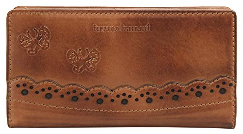 bruno banani Ziloo Zip Around Wallet Cognac
