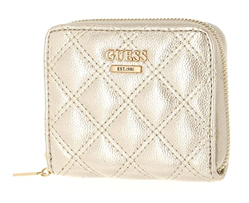 Guess Cessily SLG Small Zip Around Champagner
