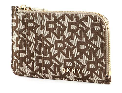 DKNY Bryant Zip Card Holder Chino/Sand