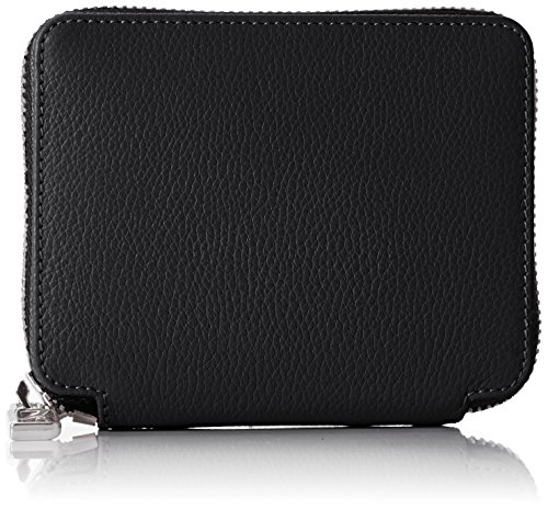 Bogner Damen Zip Around Geldbörse, Schwarz (Black), 2x9x11 cm