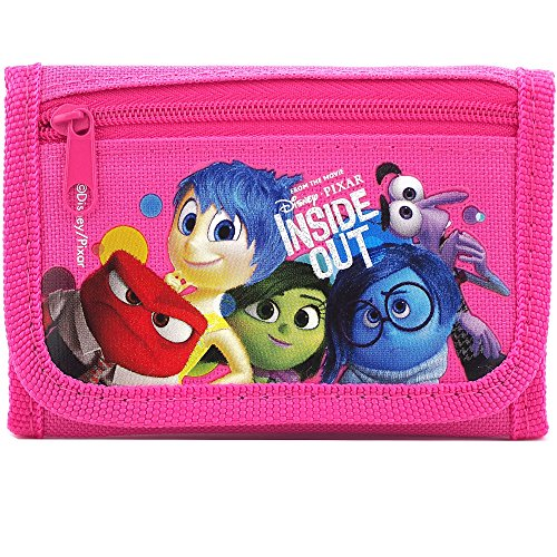 Disney Wallet?¨C C?Inside Out Pink Trifold New 0812033-pink