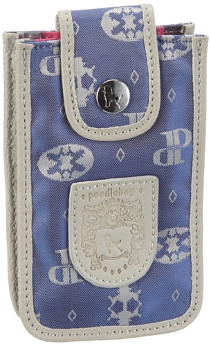 Poodlebags Damen Club-Attrazione-Mobile Bag Geldbörsen, Blau (blue), 13x7x2 cm