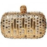 Alexander McQueen Knucklebox Laser Cut Clutch