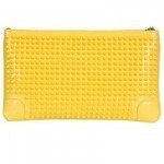 MCM First Lady Clutch gelb 19,5 cm