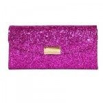Nancy Gonzalez Pearl Purple Crocodile Clutch