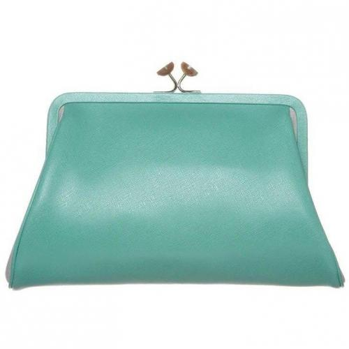 Abro Clutch mint/beige