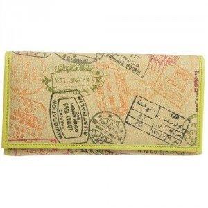 Alv by Alviero Martini Passport Summer Geldbörse safari kiwi