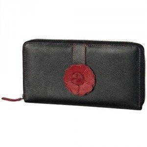 Bodenschatz Como (21 cm) Geldbörse braun/rot