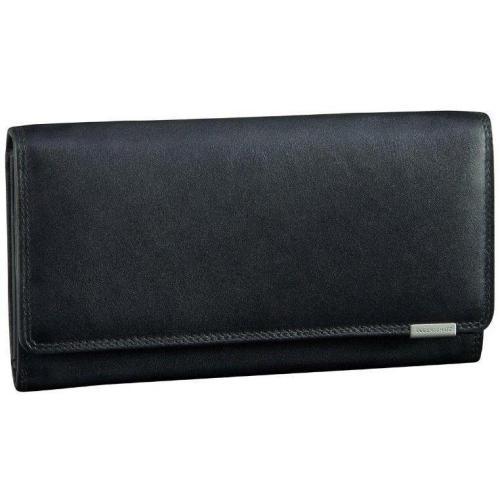Bodenschatz Kings Nappa (18,5 cm) Geldbörse schwarz