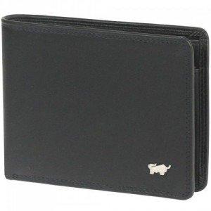 Braun Büffel Golf (11,5 cm) Geldbörse schwarz