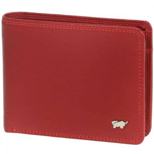 Braun Büffel Golf (12 cm) Geldbörse rot
