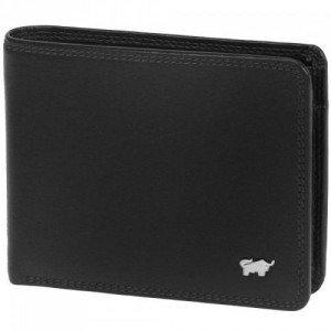Braun Büffel Golf (12 cm) Geldbörse schwarz