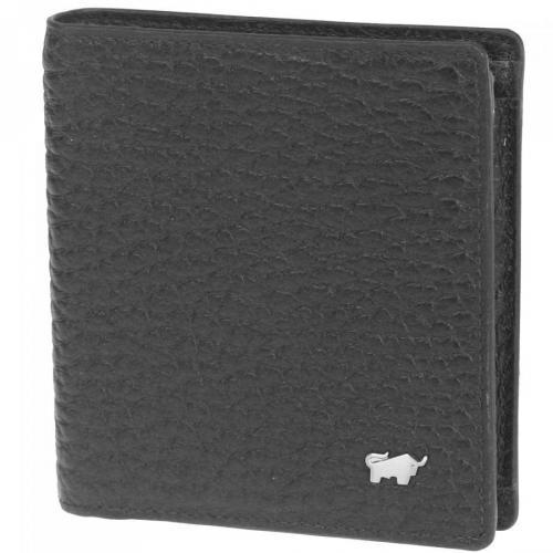 Braun Büffel Tough (9,5 cm) Geldbörse schwarz
