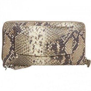 by LouLou Pretty Python Special Edition Clutch cream