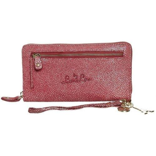 by LouLou Stingray Clutch coral