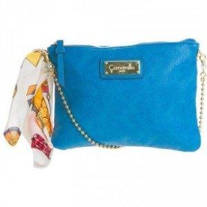 Camomilla Clutch blau