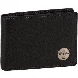 Chiemsee Geldbörse schwarz