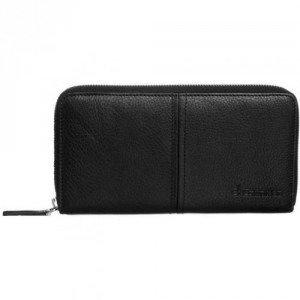 Ck Calvin Klein Minimal Lux Geldbörse black mit Labelschriftzug