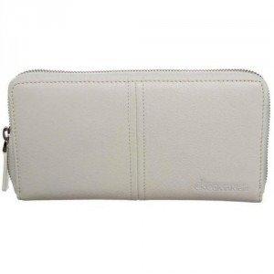 Ck Calvin Klein Minimal Lux Geldbörse white