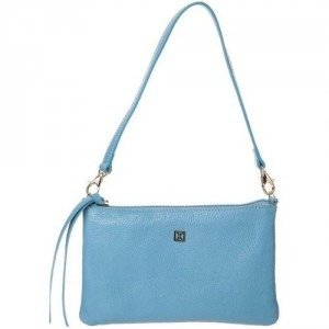 Coccinelle Gift Clutch azzurro