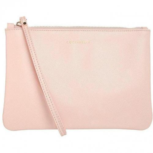Coccinelle Gift Clutch nude