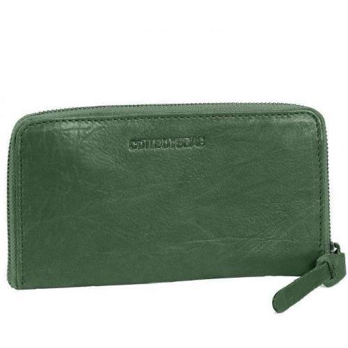Cowboysbag Nancy 19 Cm Geldbörse grün