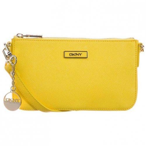 Dkny Clutch yellow