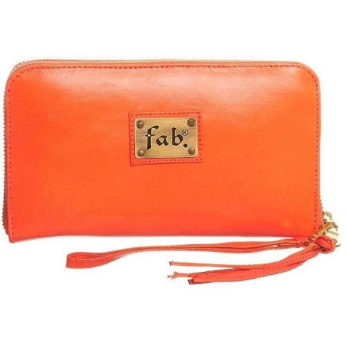 Fab Geldbörse orange fluor