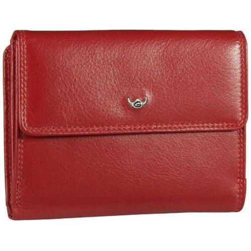 Golden Head Geldbörse rot aus glattem Rind-Nappa