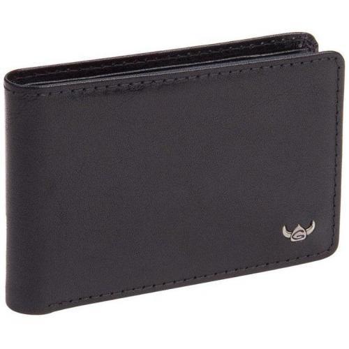 Golden Head Geldbörse schwarz einfach aufklappbar
