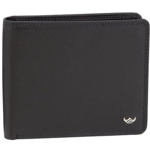 Golden Head Geldbörse schwarz mit 4 Kartenfächern