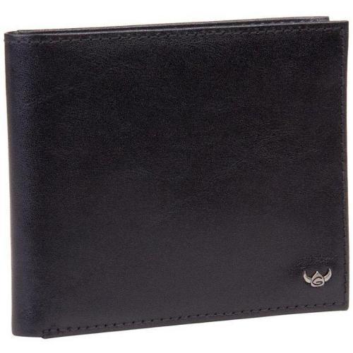 Golden Head Geldbörse schwarz mit Einsteckfach für Personalausweis