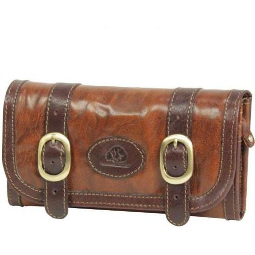 Greenburry New Expedition (19 cm) Geldbörse cognac