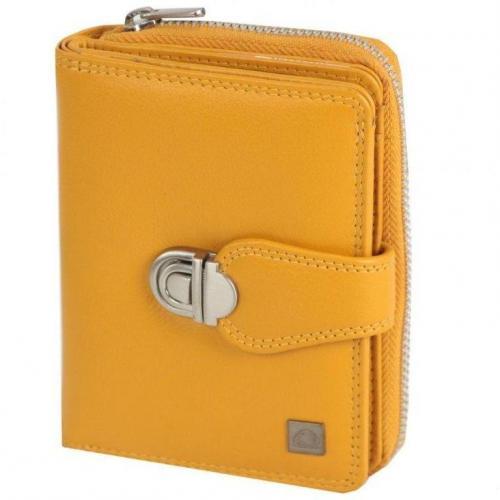 Greenburry Spongy (9 cm) Geldbörse gelb