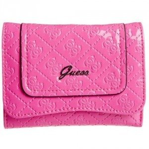Guess Bachelorette Geldbörse pink multi