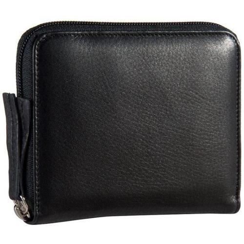 Jost Mono (12,5 cm) Geldbörse schwarz